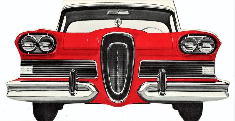 1958 Edsel Mailer Brochure