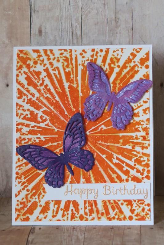 Sunny Butterfly Birthday