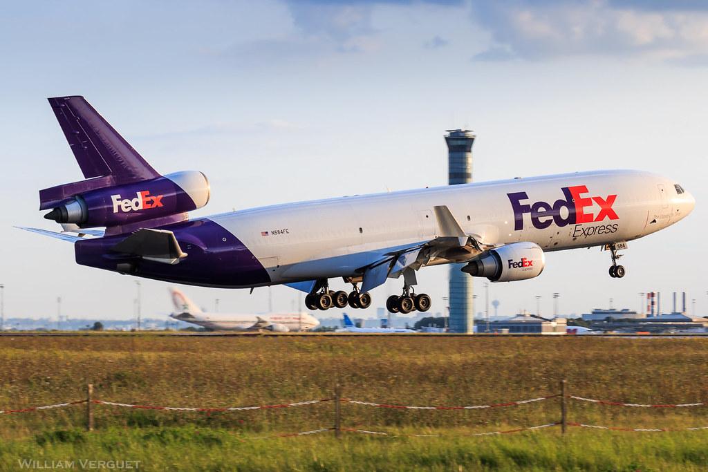 MD-11 / FedEx / N854FE