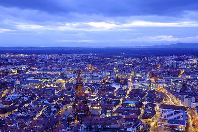Blaues Freiburg