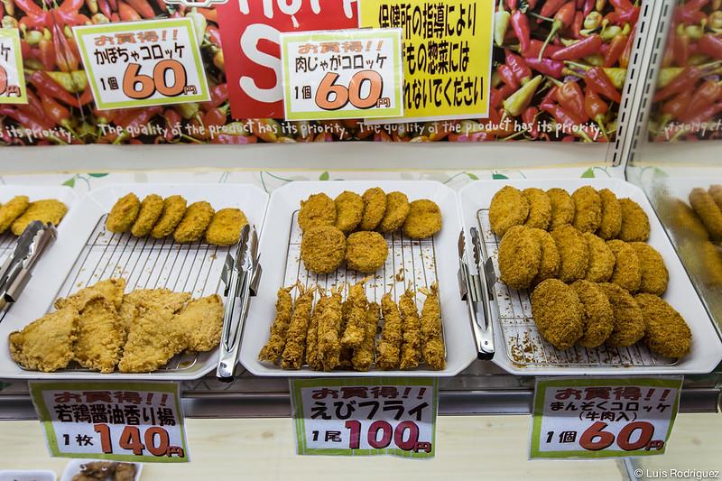 Croquetas en un supermercado
