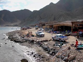 Dahab Blue Hole dive site, 2006