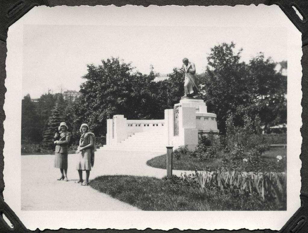 Archiv Famuc156 Münchner Familie Urlaub Karlsbad 1920er
