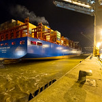 DP World - Cosco Shipping Aries op Antwerp Gateway