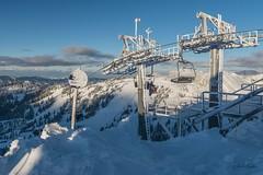 Konečná lanovky na vrcholu Häsing 1728 m n./m