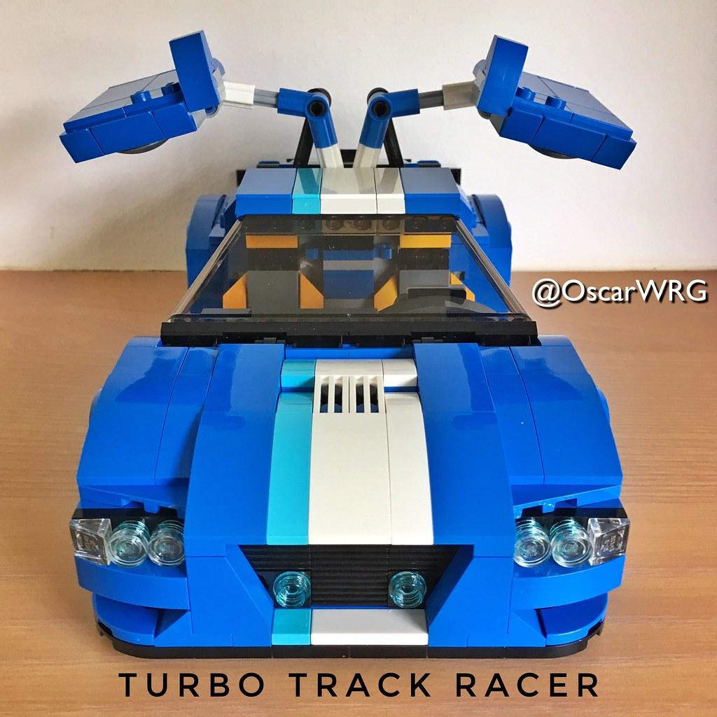 Lego Creator Legocreator 31070 Turbotrackracer Turbo Flickr