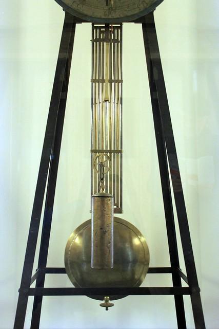 Das Pendel der Akademie-Uhr des Christian Möllinger
