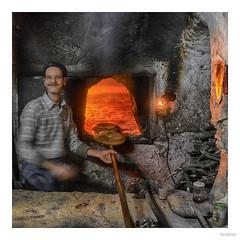 Baker in Morocco Volubilis