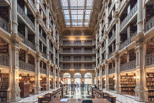 Peabody Library, Baltimore MD | by timtom.ch