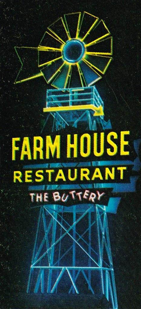 Arnold S Farm House Restaurant Buena Park Calif Sign