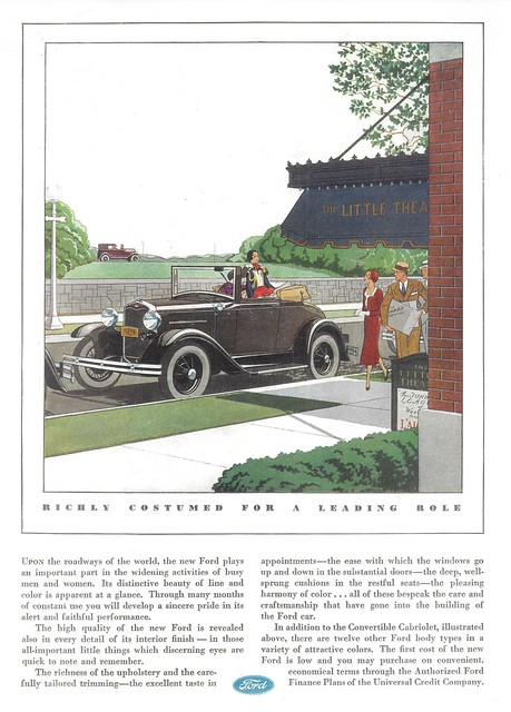 1931 Ford Convertible Cabriolet (USA)