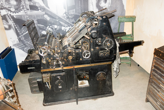 Press used by the Dutch resistance