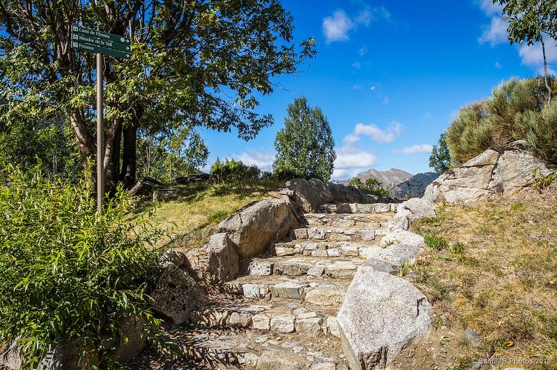 Las escaleras de piedra
