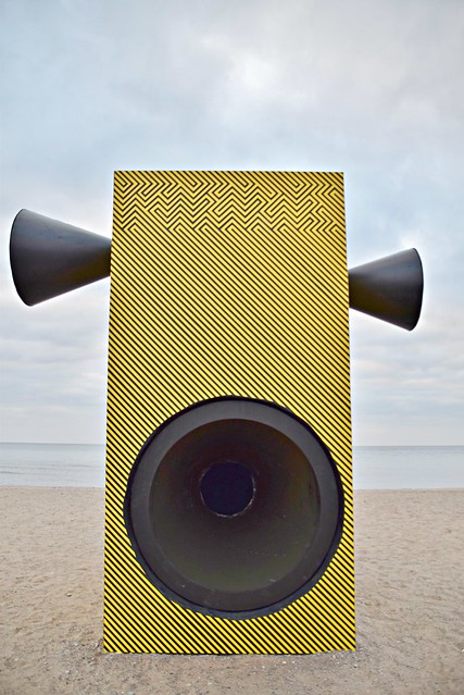Make Some Noise! by Alexandra Grieß and Jorel Heid (www.heidundgriess), The Winter Stations, Woodbine Beach, The Beach, Toronto, ON