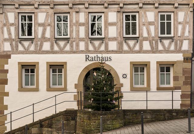 Das Rathaus in Korb