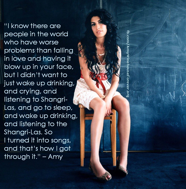 Celebrity Quotes: Amy Winehouse Quote | Quotes and inspirati ...