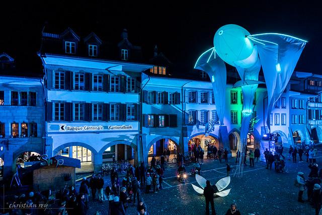 Festival des lumières Morat 2018 (Switzerland)