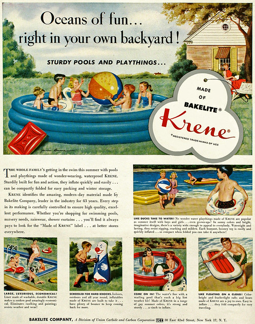Bakelite Krene advertising