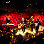 Wed, 03/01/2018 - 8:53am - Longtime faves Calexico live from Rockwood Music Hall in New York City on WFUV Public Radio, 1/3/18. Hosted by Alisa Ali. Photo by Gus Philippas/WFUV
