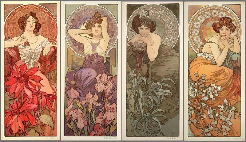 carteles de Alphonse Mucha
