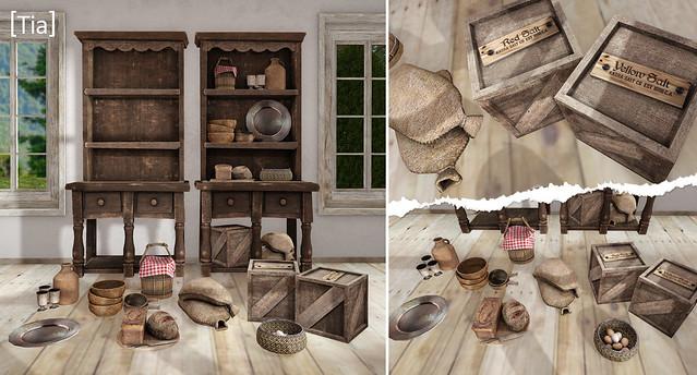 [Tia] Bolbec Kithcen Shelf