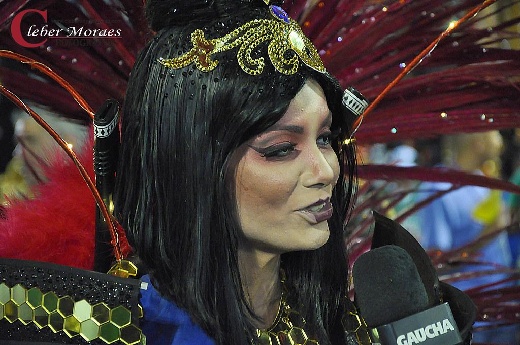 Bela Rainha Carnaval 2018 - Rio de Janeiro - RJ - Brasil