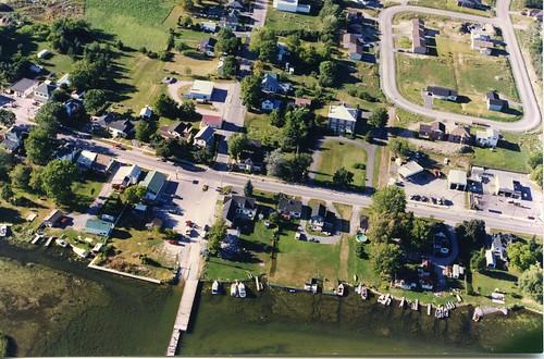 aerialphotographs 1980s shoreline