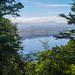 Trail climbs high above Lake Te Anau (and the town of Te Anau)