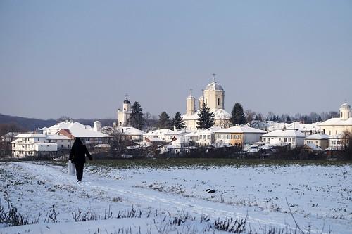 pasărea ilfov peisaj church românia zăpadă iarnă winter alpha5000 sony