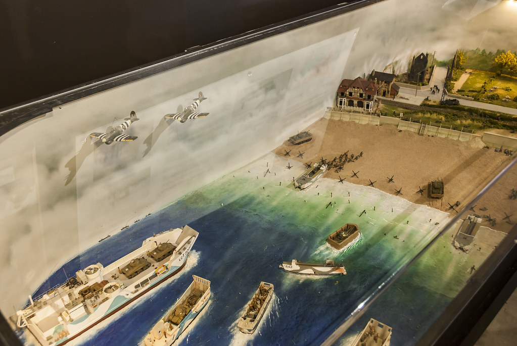 2017-09-13_10-50-41 D-Day Diorama   A model depicting the D