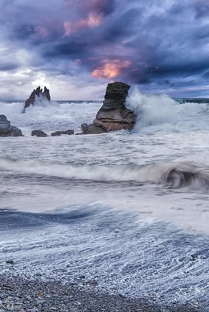 Cuando el mar se enfurece