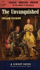 Signet Books 977 - William Faulkner - The Unvanquished