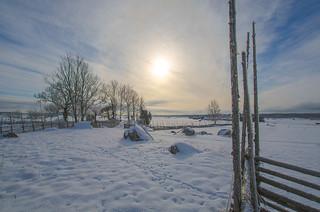 Winter landscape | by RdeUppsala