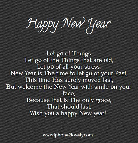 Happy New Year 2018 Quotes English Poem For New Year