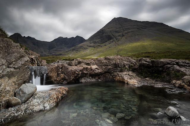 Fairy pools, Ile de skye Ecosse