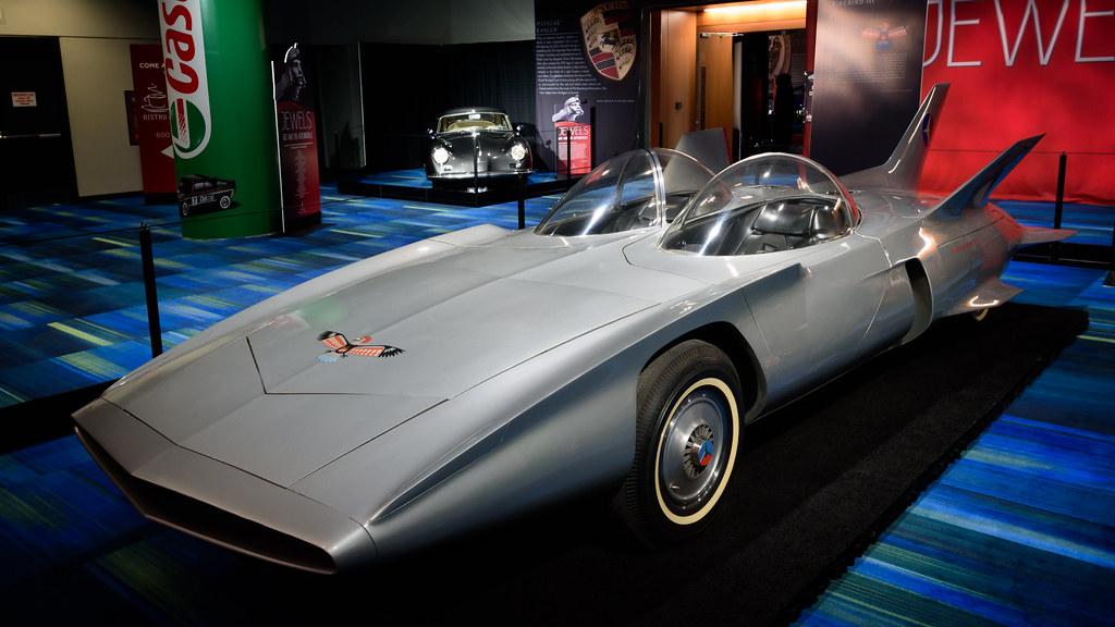 1958 General Motors Firebird III - GM built the Firebird ...