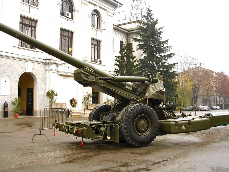 FH-70 155mm Field Howitzer 4
