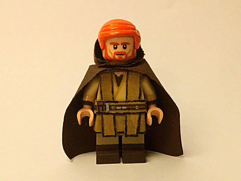 Custom LEGO Star Wars Minifigure Obi-Wan Kenobi Revenge of the Sith