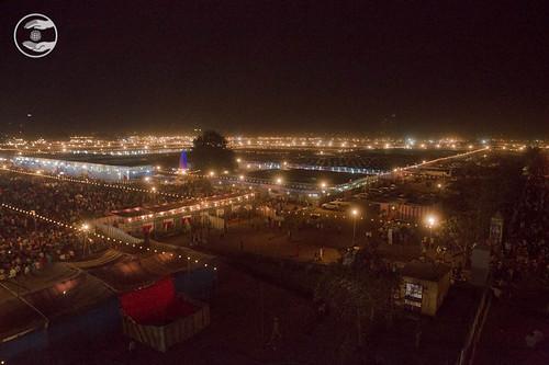 Night view of Samagam campus