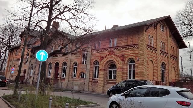 1887/89 Berlin Bahnhofsempfangsgebäude Grünau an der Görlitzer Bahn Adlergestell 554-556 in 12524 Grünau