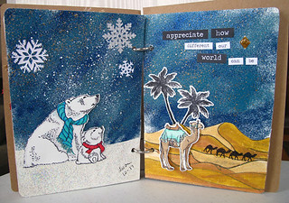 Art Journal Arctic to Desert