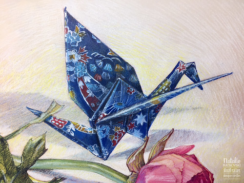 Paper bird   by natalie_ratkovski