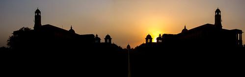 indien india incredibleindia rashtrapatibhavan delhi newdelhi sunset sonnenuntergang urbanphotography urban stadt stadtlandschaften