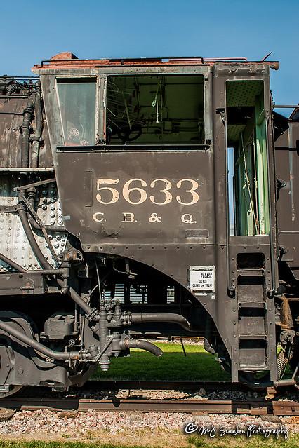 CB&Q 5633 | Alco 4-8-4 | Douglas Railroad Interpretive Center