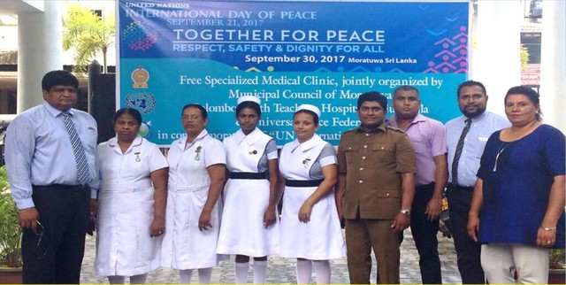 Sri Lanka-2017-09-21-International Day of Peace Observed in Sri Lanka