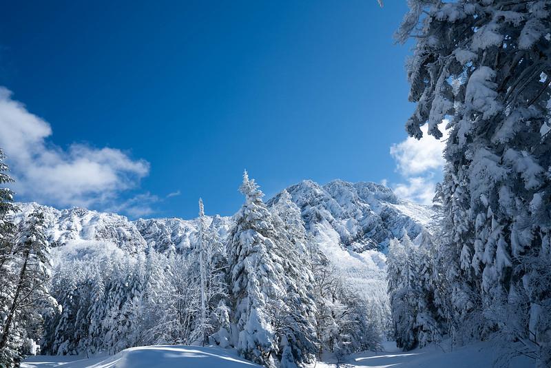 赤岳 雪山登山