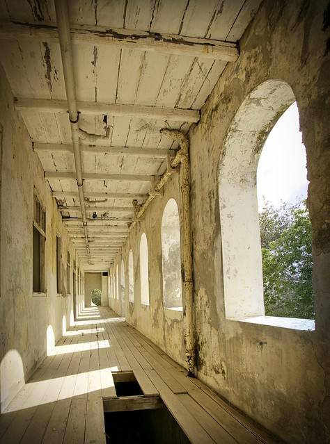 Colonial landhuys veranda