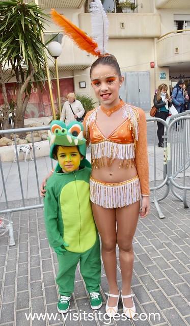 Rua Infantil Dimarts Carnaval Sitges 2018
