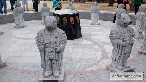 5 hari di Seoul - Patung Shio | by deffa_utama