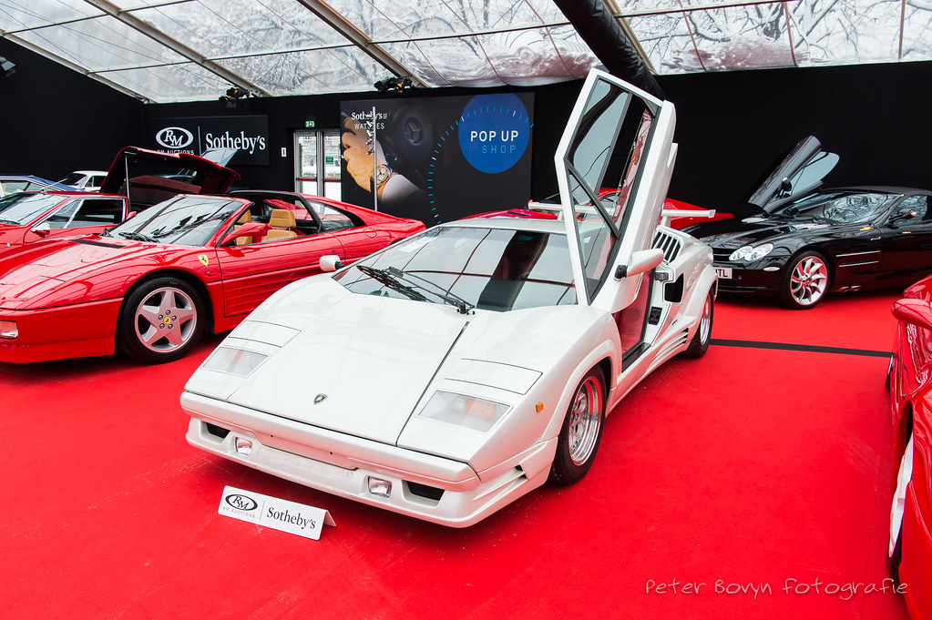 Lamborghini Countach 25th Anniversary 1991 Estimated Flickr